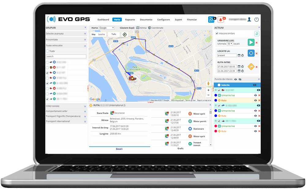 Localizare, Monitorizare & Urmarire GPS in timp real | evogps.ro