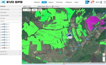 Soluție Agricultură - Monitorizare Utilaje Agricole | evogps.ro