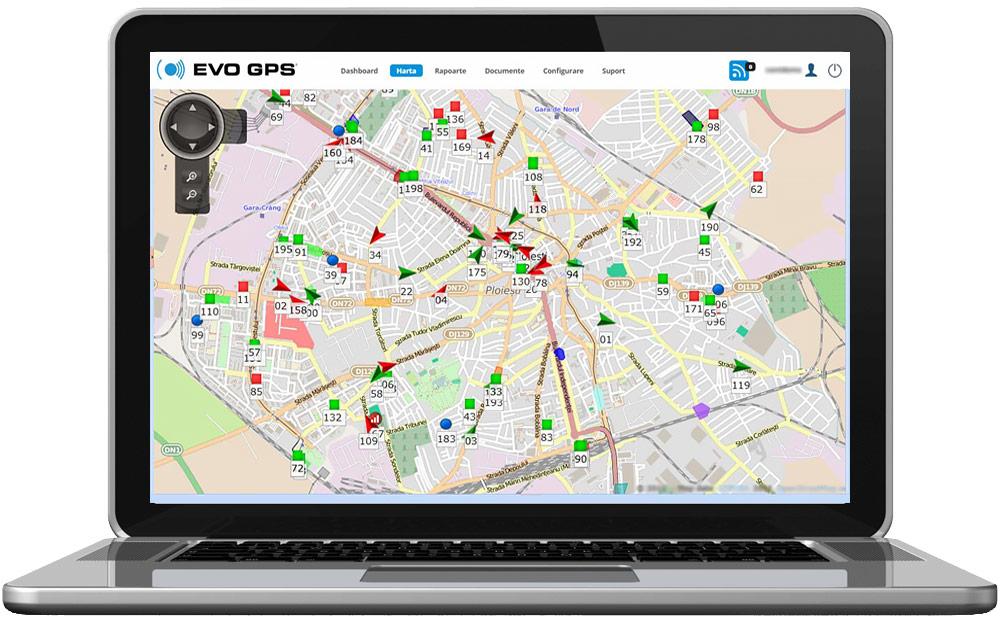 Icon Dinamic - Localizare, Monitorizare & Urmarire GPS in timp real   evogps.ro